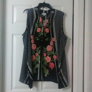 Avenue womens blouse